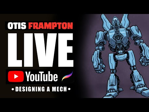 Otis Frampton LIVE - July 13th, 2019, - Designing A Mech
