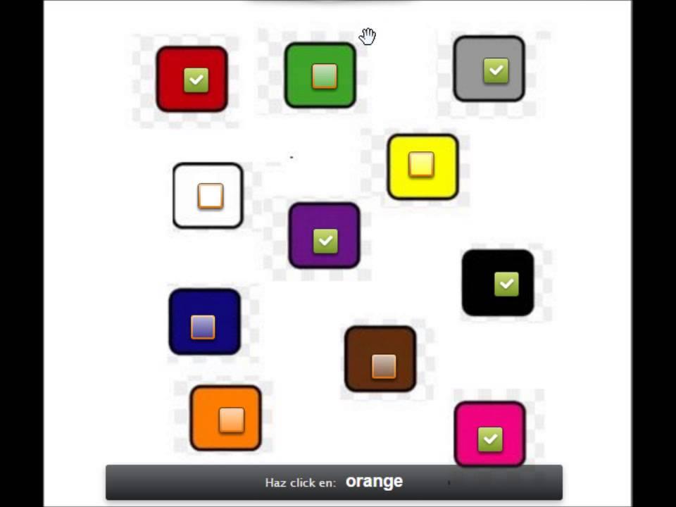 Colores En Ingles Para Niños Juego - YouTube