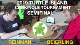 Crokinole 2019 New York Semi - Beierling v Reinman
