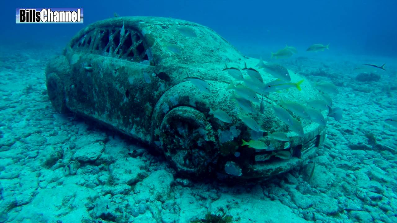 Mystery Car On Ocean Floor May be Tied