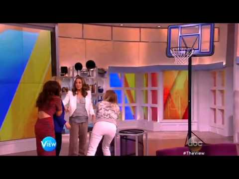 San Antonio Spurs assistant coach Becky Hammon on The View (Mar 18th, 2015)