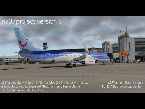 X737 V5 Cold and dark how to start tutorial [X-Plane10]