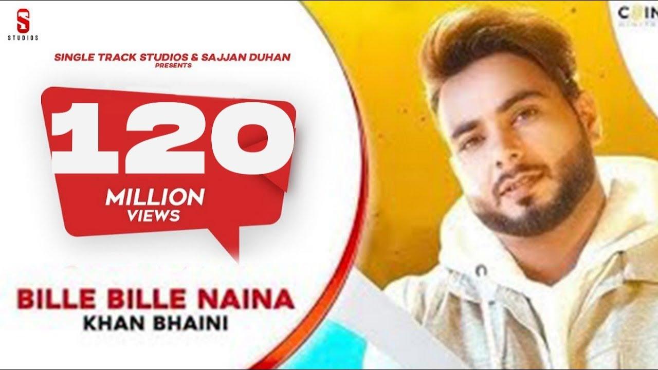 Bille Bille Naina Waliye - Khan Bhaini | Punjabi Songs 2019 | ST Studios | Ditto Music