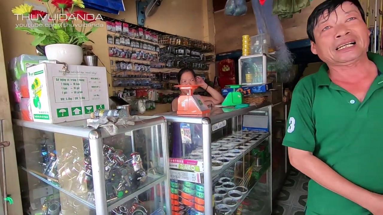 Chở Dustin đến Tiệm Cần, Mồi Câu l  Tiệm Bán Đồ Câu Cá ở Sài Gòn có gì???
