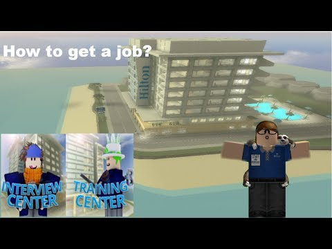 How to get a job? - Hilton Hotels ROBLOX