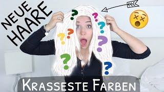 Meine neuen Haare :O .. die KRASSESTEN FARBEN | BibisBeautyPalace