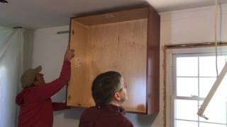 Hanging Cabinotch Full Access Job #1 Wall Cabinets On Suspension Rail