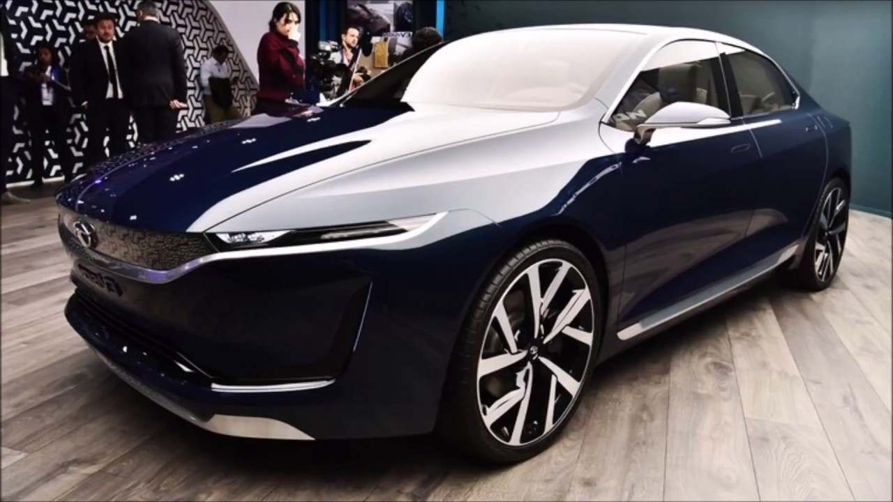 New Tata Electric Car Evision Concept A Perfect Sedan For