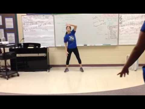 BGHS Choir - Can't Stop the Feeling - Choreography Full Tempo