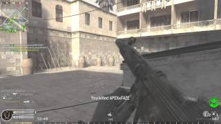 Call of Duty 4 Multiplayer PC gameplay MP5 Silencer Killing