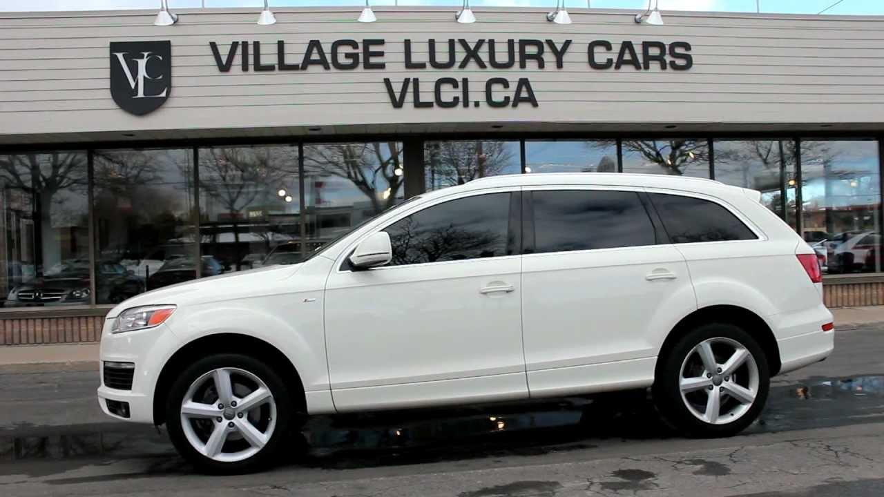 2008 Audi Q7 3 6 Village Luxury Cars Toronto Youtube