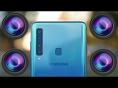Samsung Galaxy A9 2018 Review - A QUAD Camera Monster!