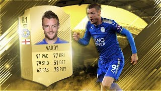 FIFA 18 Vardy Review - Jamie Vardy Player Review - FIFA 18 Ultimate Team Gameplay