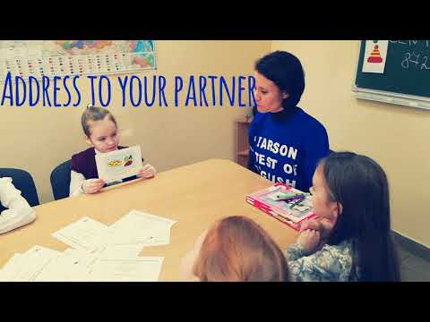 Pearson Test of English Young Learners. Part 2. Short Talks