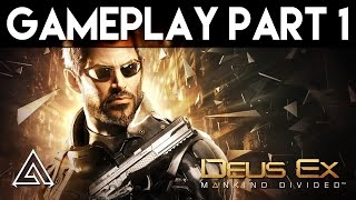 Deus Ex Mankind Divided Gameplay Part 1 - First 30 Minutes (PC Ultra)