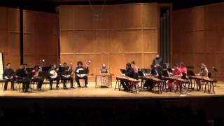 紫竹调 Purple Bamboo Tune  (Florida State University Chinese Music Ensemble)