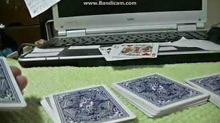 Easy Mathematical Card Trick by tejinaouji 実演(Demonstration movi...