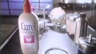1986 Curel Lotion Commercial