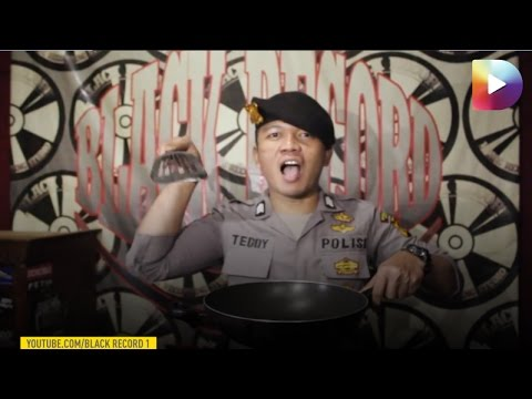 Aksi Lucu Rap Polisi Tentang tahu Bulat