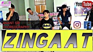 Zingaat song hindi song film __ dhadak __ Dance choreography by Anant sir