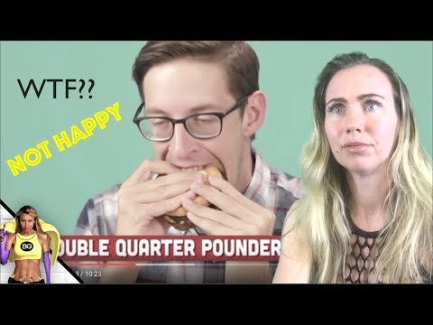🍌 VEGAN REACTS TO GUY EATING EVERYTHING AT MCDONALD'S BUZZFEED