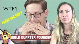 BUZZFEED : THIS GUY EATS EVERYTHING AT MCDONALD'S / REACTION FROM EX-WORKER!