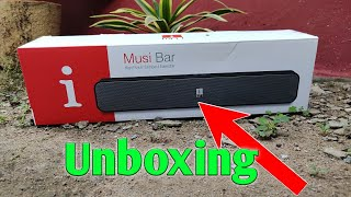 i ball musi bar unboxing and review new Bluetooth speaker