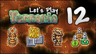 Let's Play Terraria 1.3.5 | Fishing, Crates, Loot & Treasure Galore! [Episode 12]