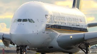 10 SUPER CLOSE UP TAKEOFFS | A340 A380 787 | Melbourne Airport Plane Spotting