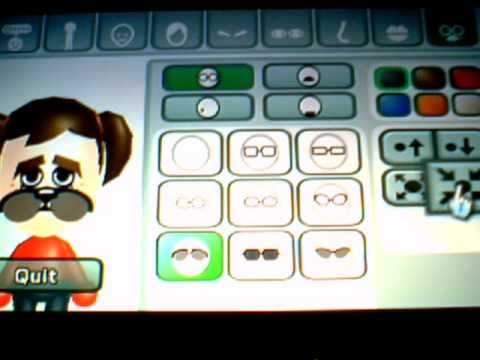 how to make a mii on wii