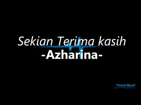 Sekian Terima Kasih By Azharina Youtube