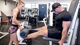 Full Leg Workout For Overall Mass (Quads + Hams + Glutes)