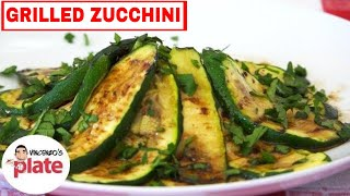 Italian Grilled Zucchini Recipe | How To Grill Zucchini