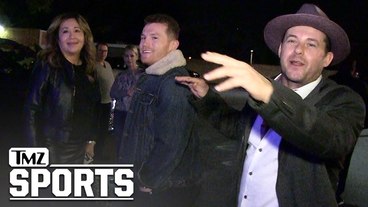 Canelo Alvarez Mocks Floyd Mayweather, Have Fun Fighting MMA Guys! | TMZ Sports