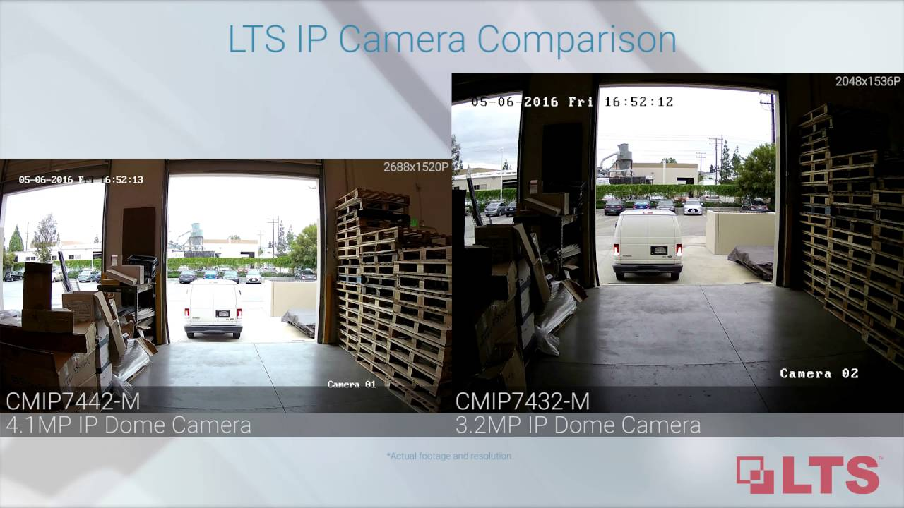 See The Difference Lts 3 2mp And 4 1mp Ip Camera