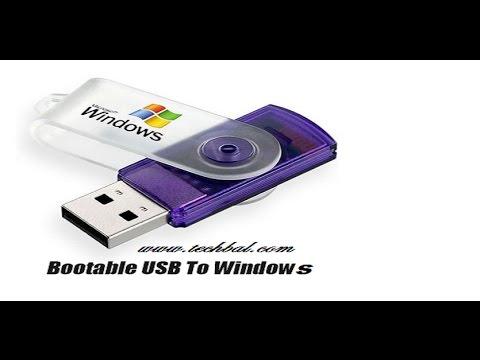 How to Create Bootable USB Flash