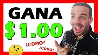 🤗Como GANAR $1 DOLAR Con TRABAJOS Super FACILES Por Internet - (Nuevo Metodo 2019)