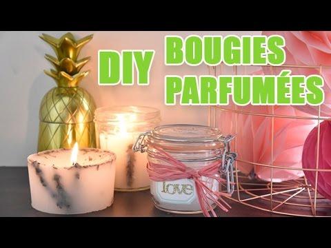 Fabriquer Chandelle 3 idées pour fabriquer des bougies parfumées - diy avec