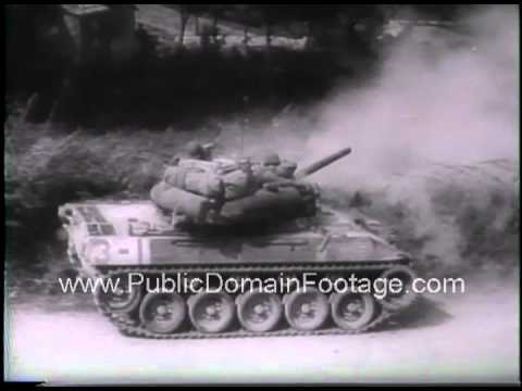 Allies break gothic line in Italy WWII Newsreel PublicDomainFootage.com thumbnail