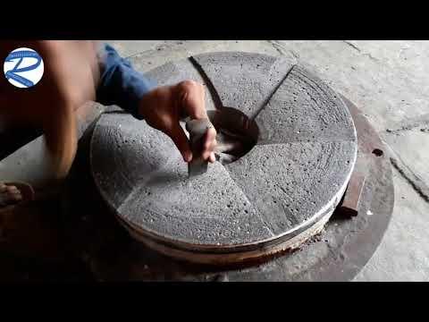 "18"" flour mill Stone Grinding"