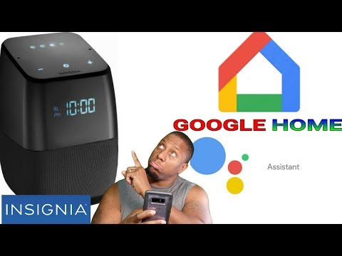 Insignia bluetooth speaker with google assistant