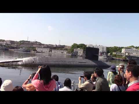 YOKOSUKA軍港めぐり -護衛艦「いずも」など 2015.05.02