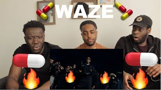 SKEPTA, CHIP & YOUNG ADZ - WAZE (THE MOVIE)| REACTION