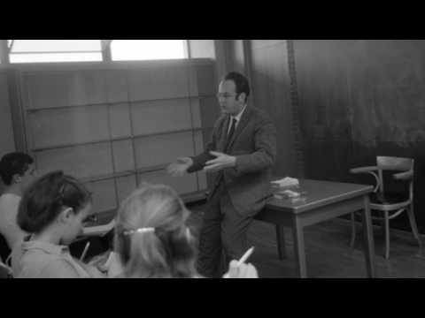 """Allen Grossman - Lecture #7 [Part 1] - Yeats' """"Among School Children"""""""