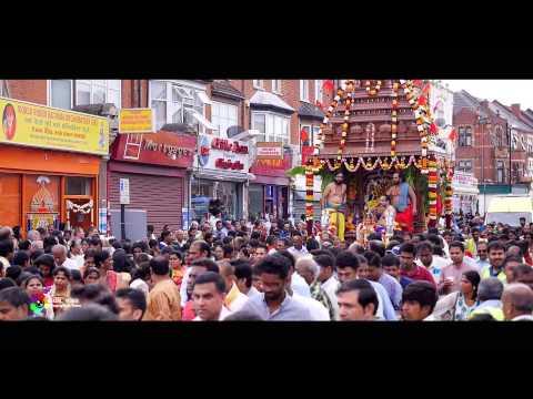 London Sri Murugan Temple (Chariot Festival)