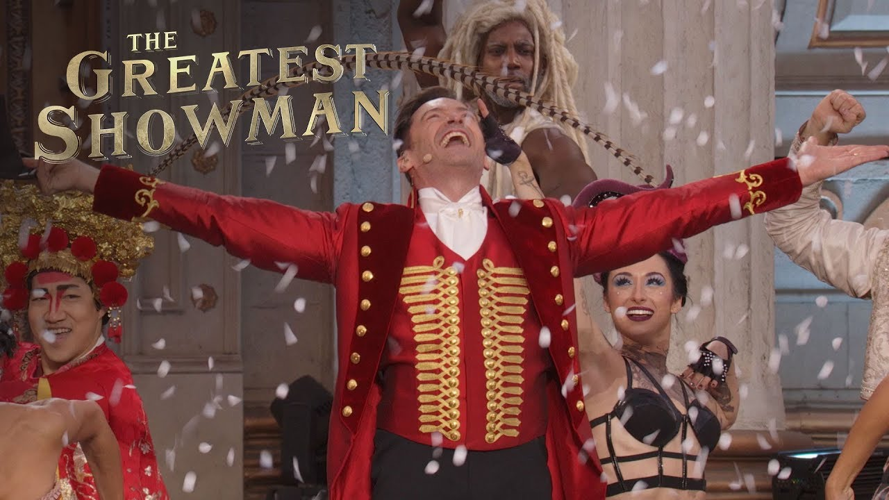 The greatest showman come alive live performance for First house music song