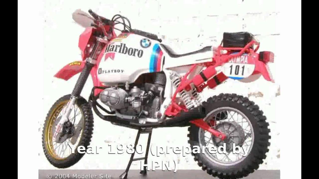 bmw r 80gs dakar - motorbike details - youtube