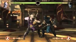Mortal Kombat 9 - Quan Chi обучение + комбо