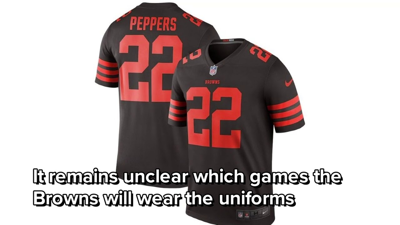 hot sale online 64821 9c2b6 Cleveland Browns to wear 'Color Rush' uniforms multiple times in 2018