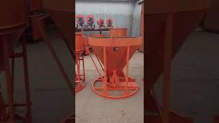 Бадья для подачи бетона БН-1,0Н низкая, лоток